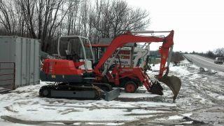 Scat Trak 545 Scattrak Excavator Dozer Backhoe Kubota Diesel photo