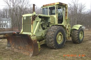 Michigan Clark Articulating 4x4 Tractor 290m photo