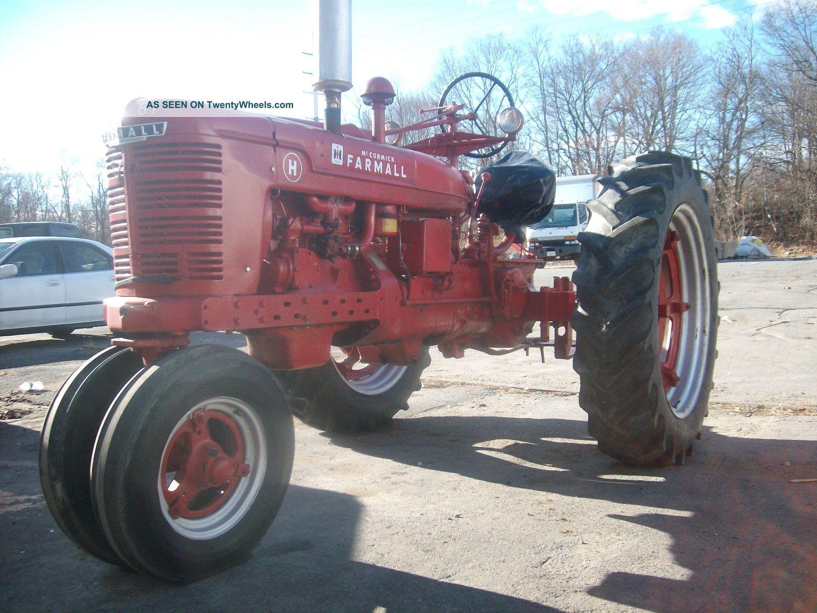 1944 International Harvester Model H Tractor,  Restored Farmall photo