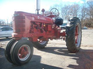 1944 International Harvester Model H Tractor,  Restored photo