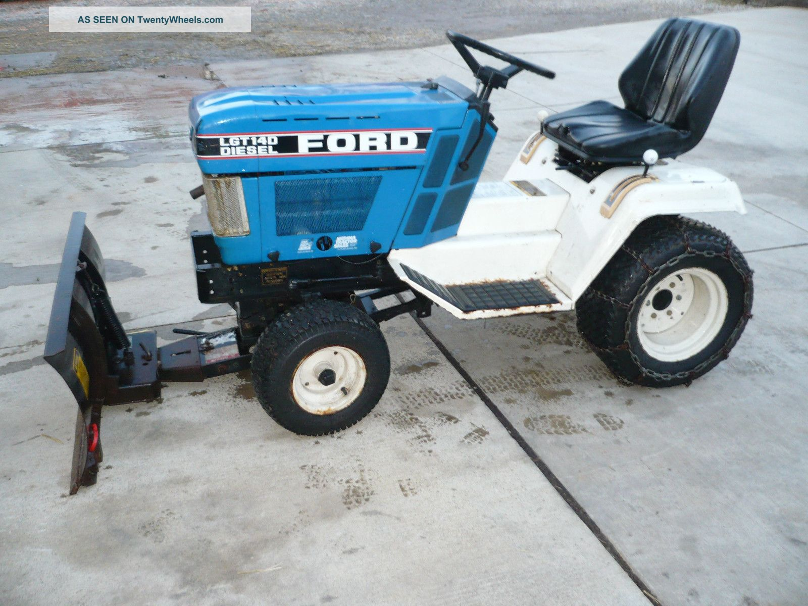 Ford Lgt 14d Garden Tractor Other photo