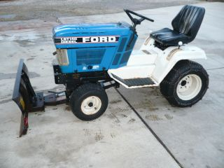 Ford Lgt 14d Garden Tractor photo