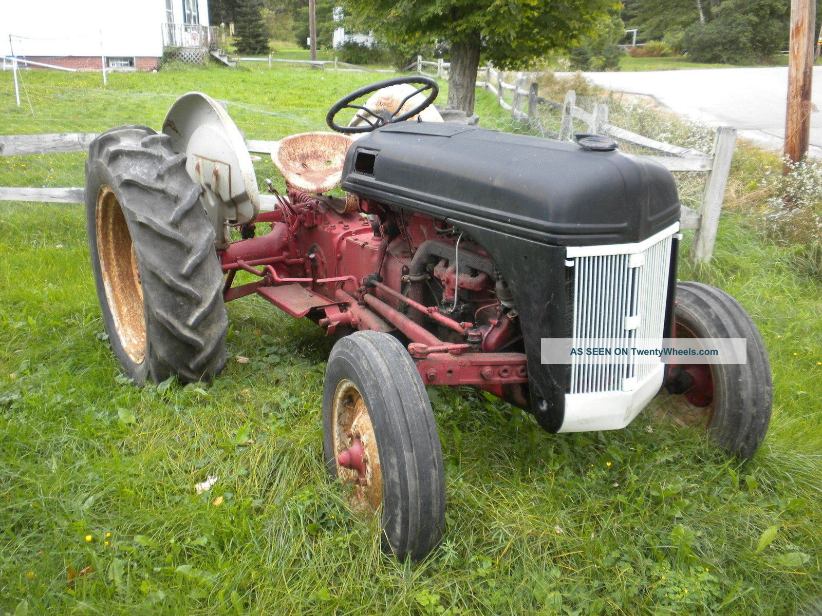 Restored Antique Tractors : Ford tractor n antique s mostly restored rebuilt