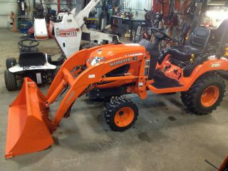 Kubota Bx2360 Tractor W Loader photo