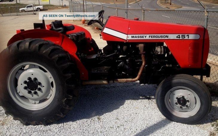 Massey Ferguson 451 Farm Tractor 2004 Ready To Go Tractors photo