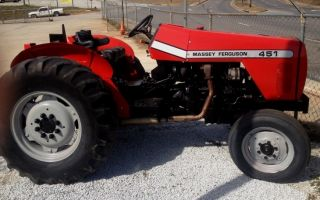 Massey Ferguson 451 Farm Tractor 2004 Ready To Go photo