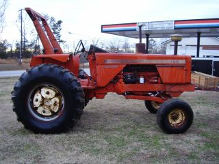 Allis - Chalmers 185 Crop Hustler 2wd Diesel Tractor photo