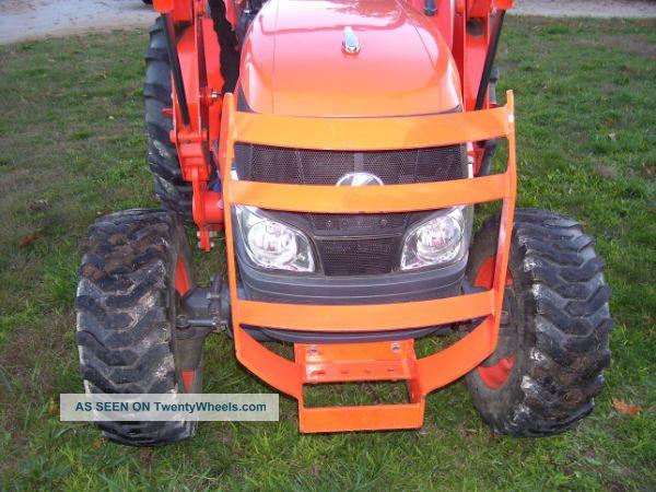 Kubota Box Blade : L dt kubota wd tractor w loader trailer bushhog