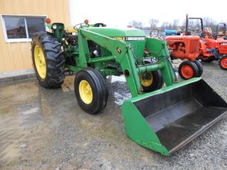 John Deere 2750 With John Deere Loader 1983 75 Hp Very Good Work Ready Tractor photo