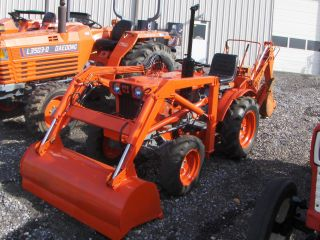 Kubota B7100 Loader & Backhoe photo