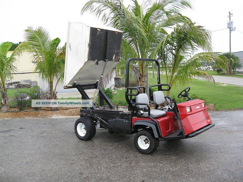 Toro Workman 3100 Custom Refuse Collection 2 Yd Dump Utility Vehicles photo