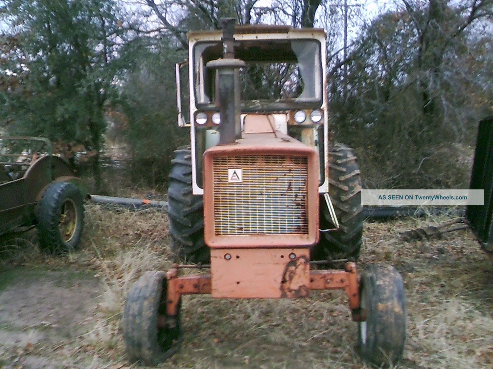 Allis Chalmers 190 Xt Diesel Tractor Straight And Tractors photo