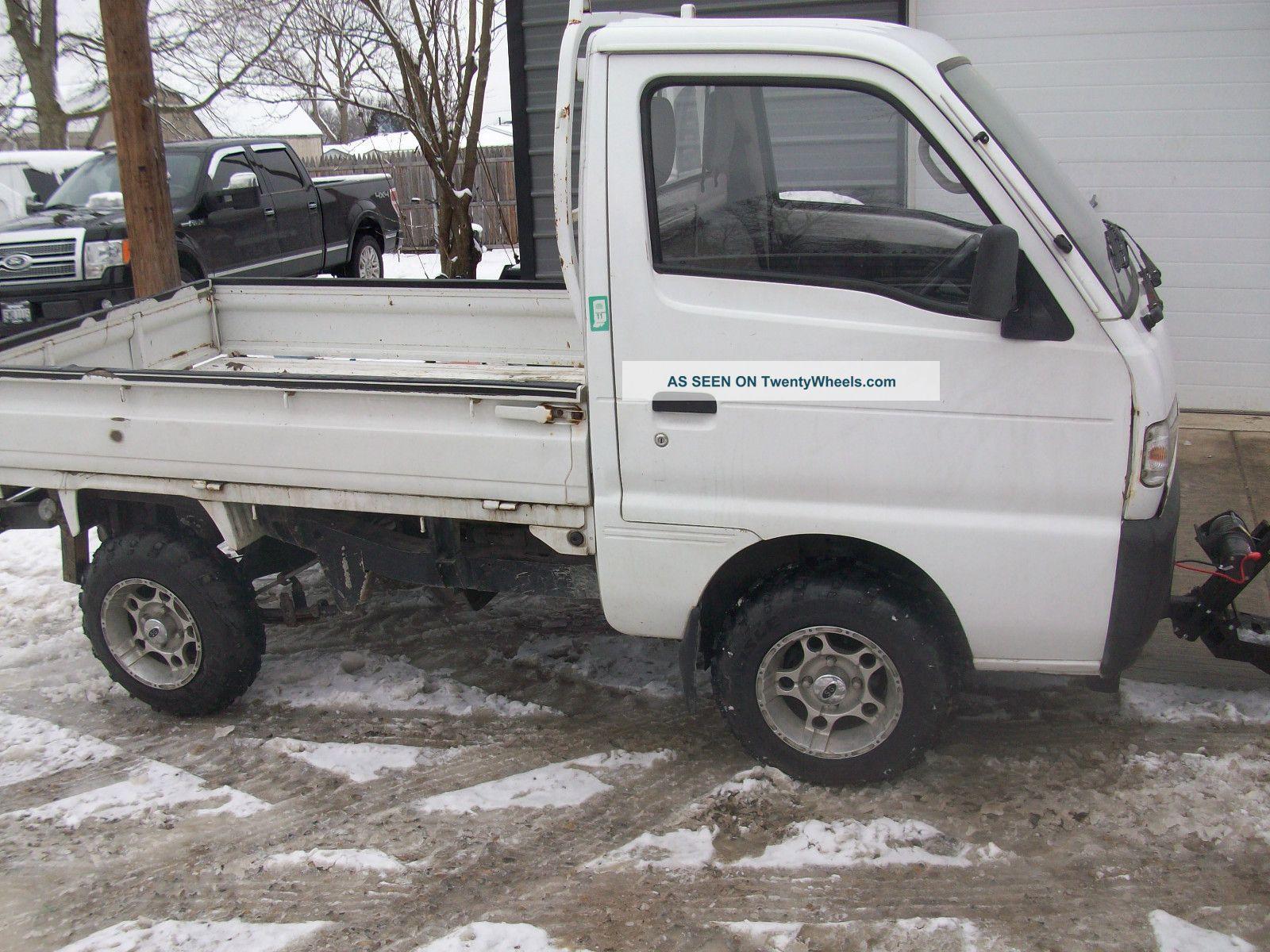 Suzuki Mini Truck Lift...
