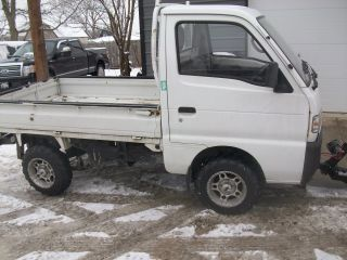Suzuki Carry Japanese Kei Mini Truck 4wd photo