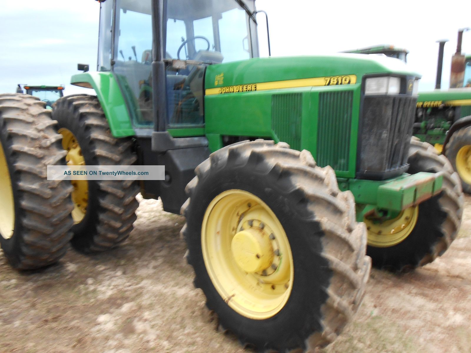 4x4 Tractor Axle : John deere cab air in radials with axle dauls