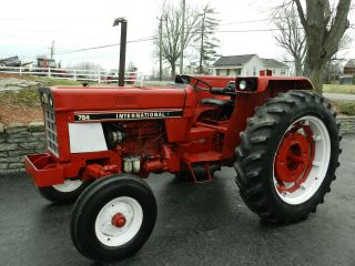 International 784 Tractor - Diesel - With photo