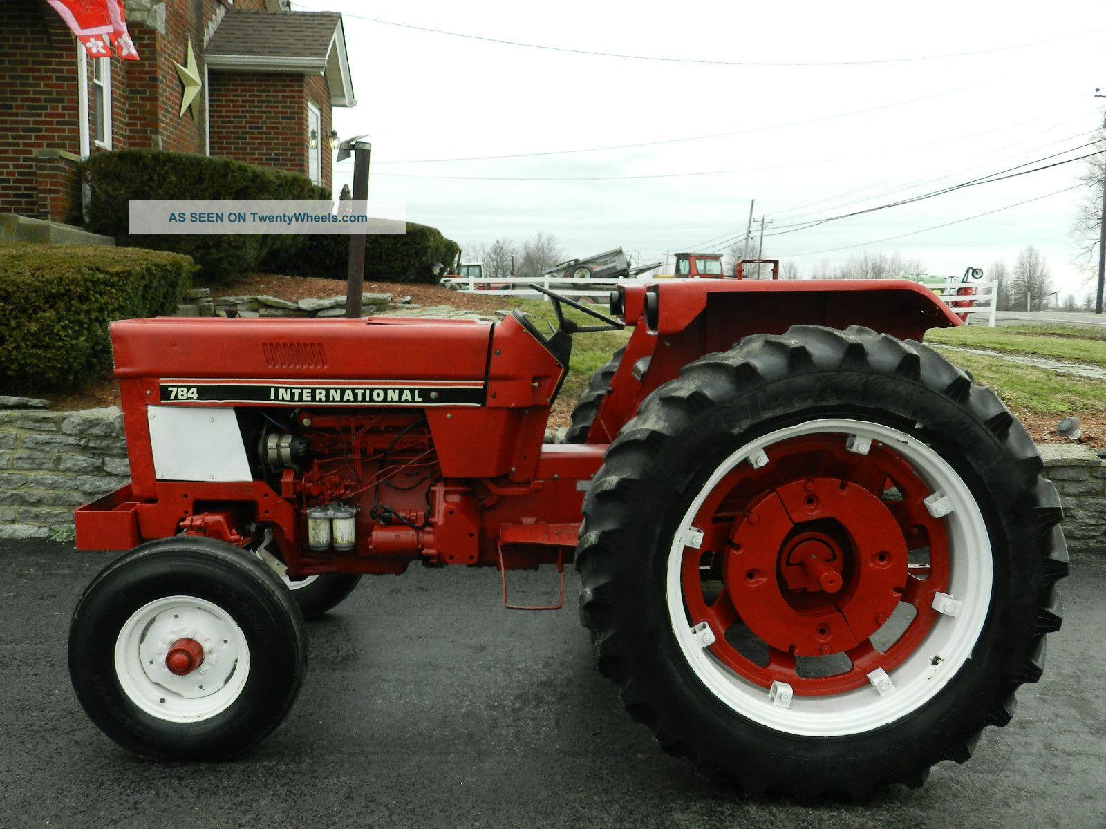 International Tractor Diesel With Lgw