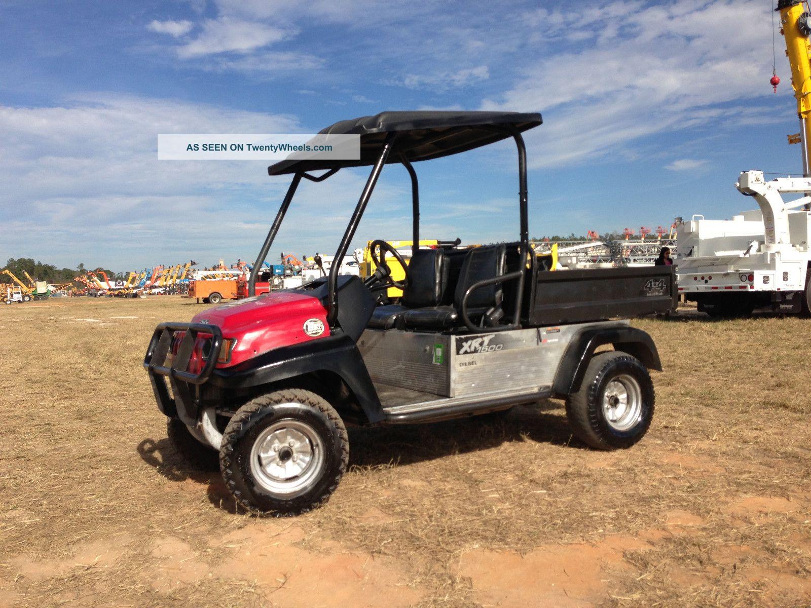 Ingersol Rand Utility Truck Diesel Kubota Utv Atv Dump Bed Sunshade Club Car Lgw