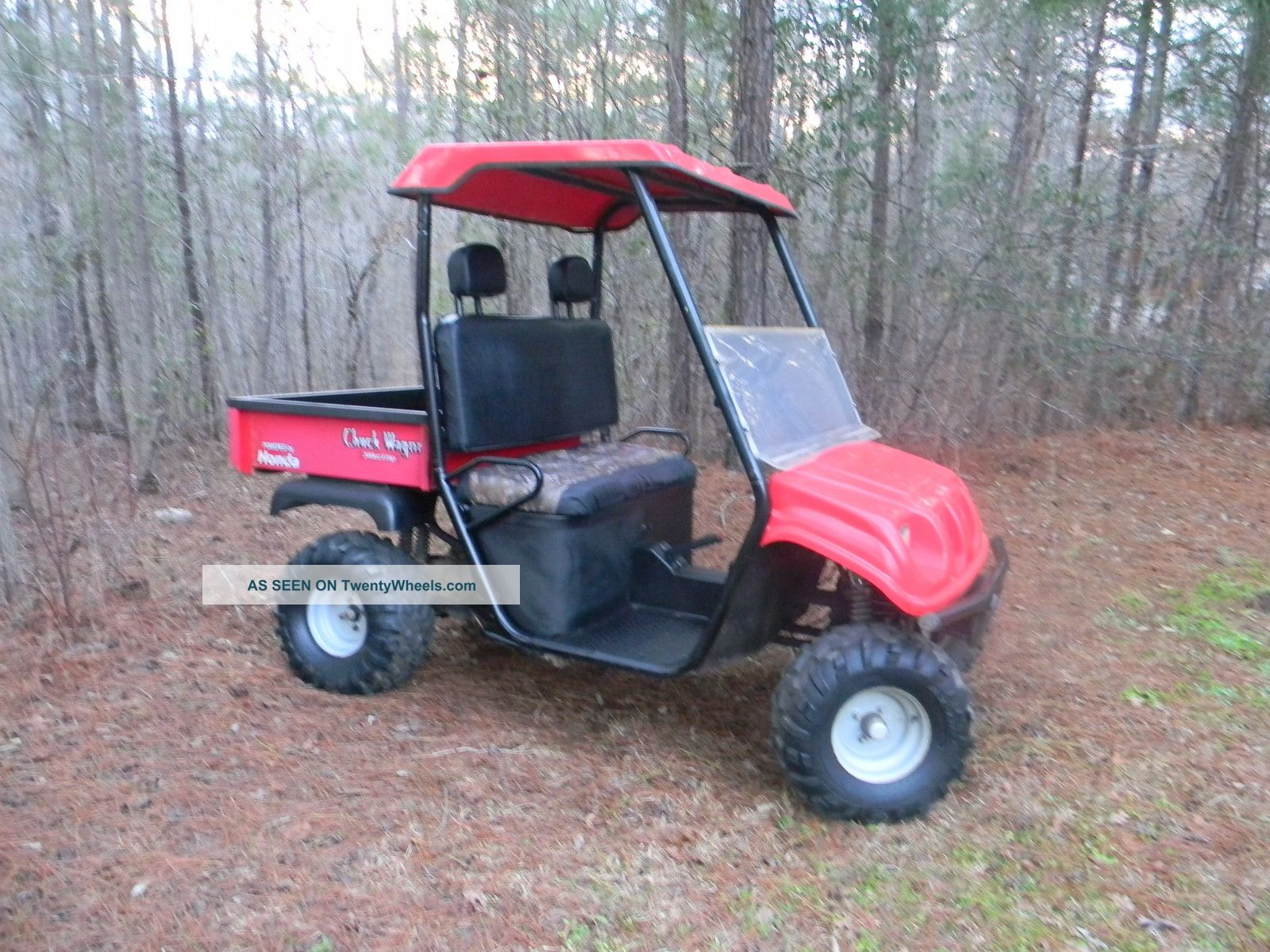 Honda Chuck Wagon Utv Related Keywords & Suggestions - Honda Chuck