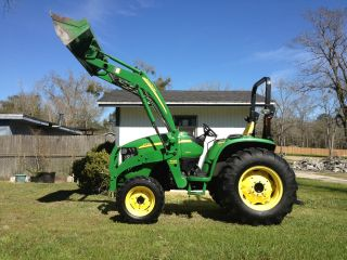 2008 John Deere 4720 4x4 With 400x Loader photo