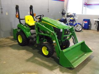 2011 John Deere Tractor 1023e With Extras Look Here First photo
