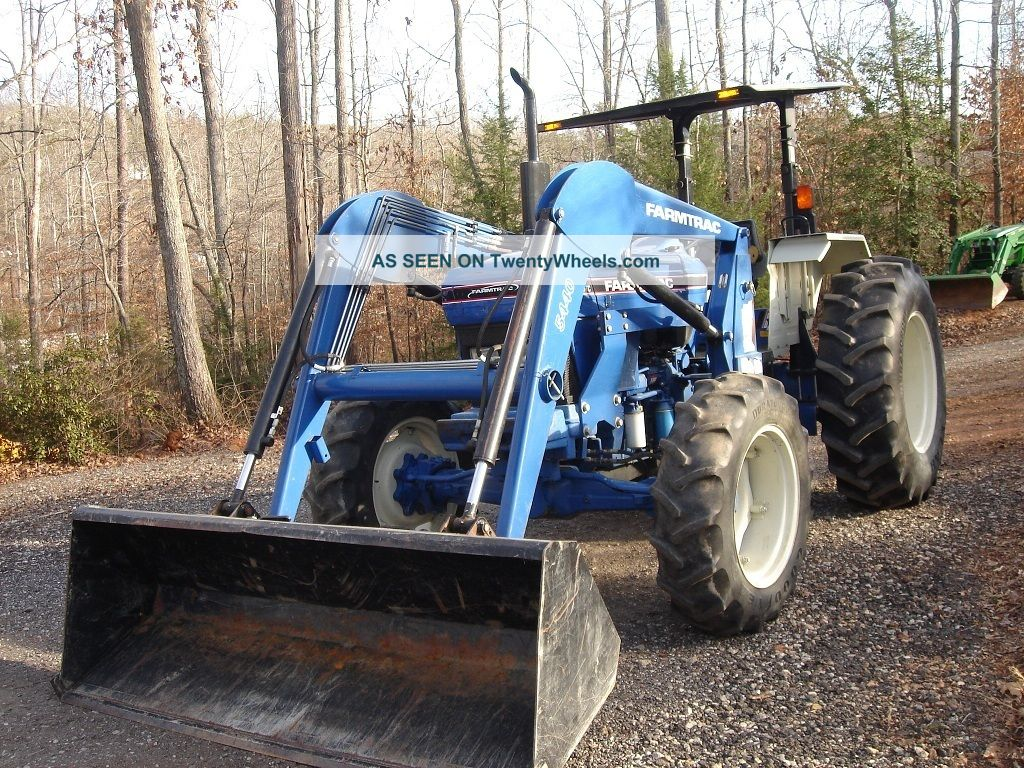 Farmtrac 675dtc W   Front Loader  1400 Hrs  4 Wd  72 Hp