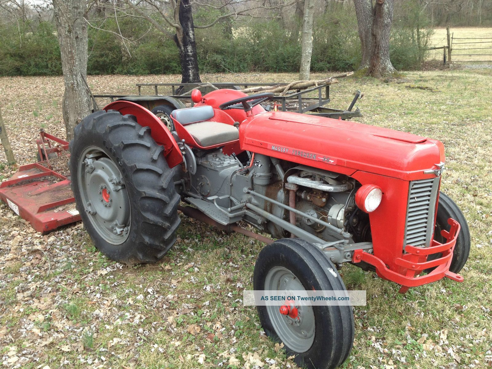 Massey Ferguson 35 Gas Tractor : Til porsche once made a gasoline powered tractor