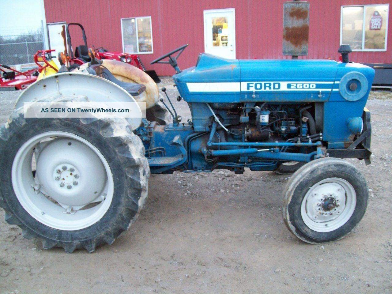 2600 Ford Tractor Specifications : Ford diesel specs