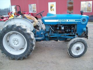 Ford 2600 Diesel Tractor ; Runs Great Good Condition photo