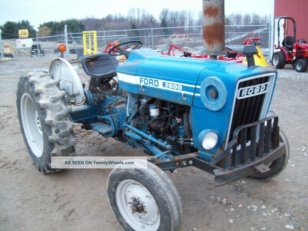 2600 Ford Tractor Specifications : Ford diesel tractor runs great good condition