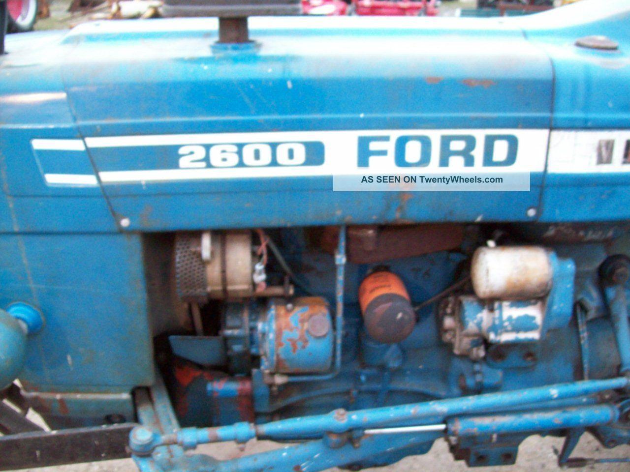 Wiring Schematic For 2600 Ford Diesel Tractor Autos Weblog
