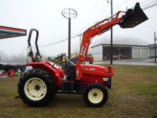 4020 Branson 4x4 Loader Tractor Only 300 Hours photo