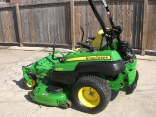 John Deere Z830a Zero Turn Mower 60 Inch Cut photo