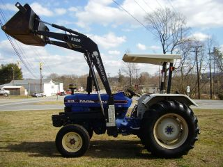 Farmtrac 60 2wd Diesel Loader Tractor photo