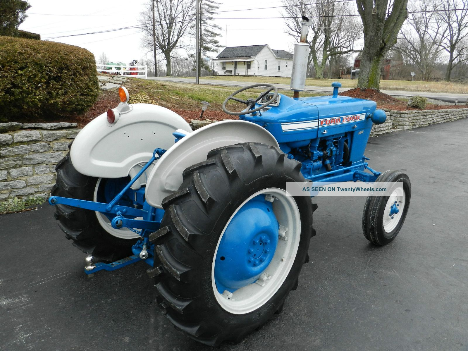 Industrial Ford 2000 Tractor : Ford industrial tractor data