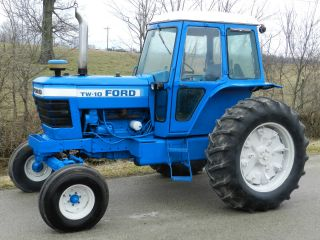 Ford Tw - 10 Tractor & Cab - Diesel - With photo