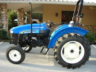 New Holland Workmaster 45 photo