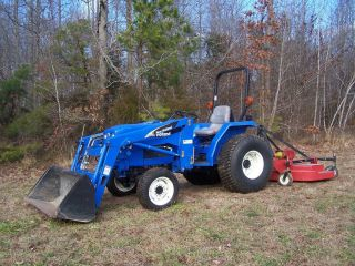 2005 New Holland Tc30 4wd Front End Loader Tractor Low Hours Like New 4x4 Extras photo