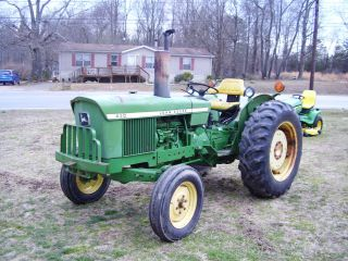 John Deere 830 2 Wd Diesel Tractor With Power Steering photo
