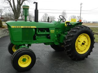 John Deere 4020 Tractor - Diesel - Restored - Sharp photo