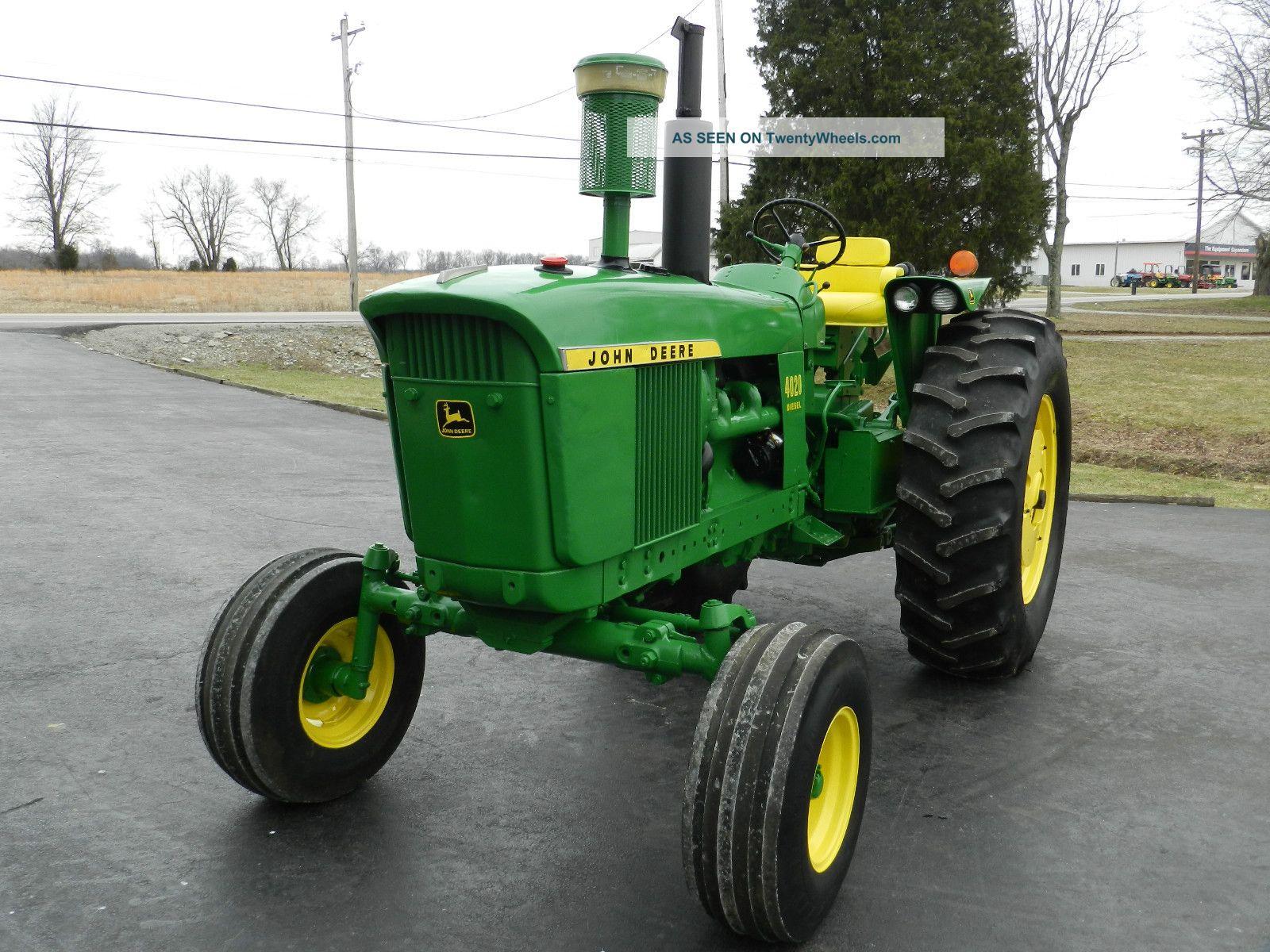 John Deere Tractor Diesel Restored Sharp Lgw