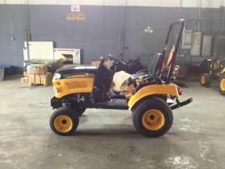 New Yanmar Cub Cadet Yanmar Sc2400 Tractor photo