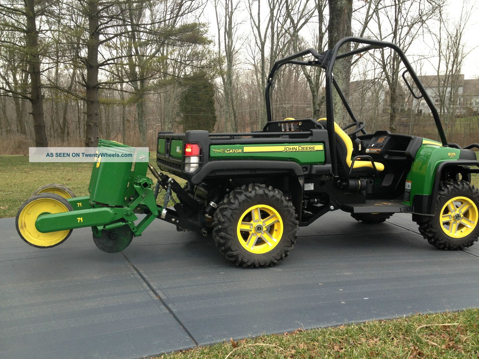 2012 John Deere Gator 825i With Hydraulic 3 - Point Hitch & 2 - Row Flex 71 Planter Utility Vehicles photo