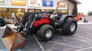 2000 Massey Ferguson 2210 Tractor W/ Quicke Loader.  4x4.  53 Hp.  Perkins Diesel photo