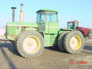 John Deere Jd 8630 Tractor - photo