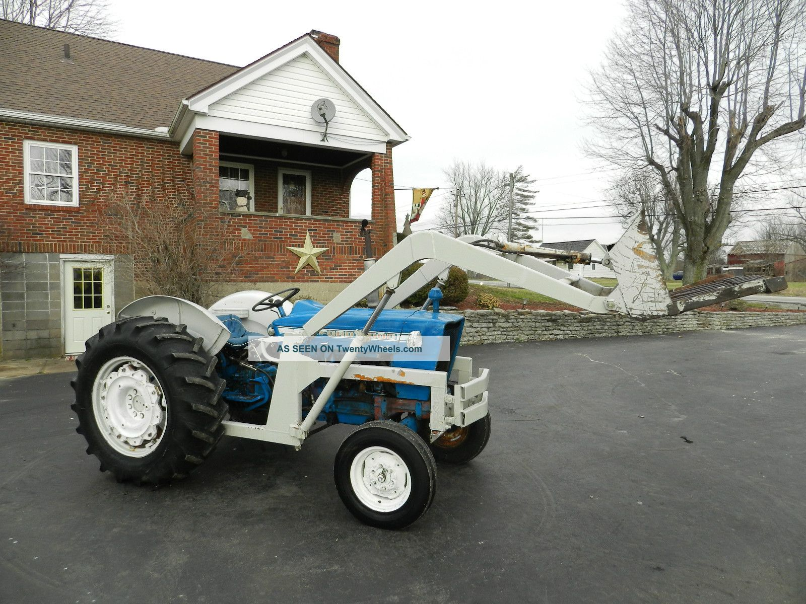 Ford Tractor Loader Gas Lgw