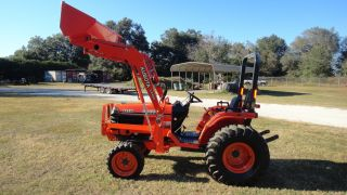 Kubota B2710 4x4 With Loader,  Hst,  Very Low Hours photo