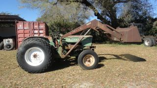 Oliver 1265 Diesel With Loader,  Restore Or Parts photo