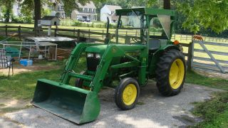John Deere 950 Tractor With Front End Loader photo