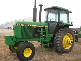 1987 John Deere 4450 2wd Tractor photo